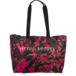Henri Bendel - Pink Floral Camo Nylon Tote